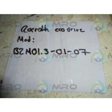REXROTH Italy Canada BZM01.3-01-07 ECODRIVE *NEW IN BOX*