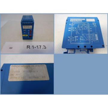 Rexroth India Canada VT11025-16b, Mannesmann Rexroth 13310035, VT 11025-16b