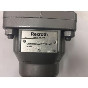R431002641 USA Greece Rexroth H-2 Controlair® Lever Operated Valves H-2-X P50493-4