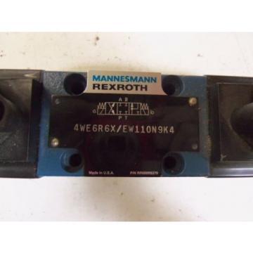 REXROTH India France 4WE6R6X/EW110N9K4  *USED*