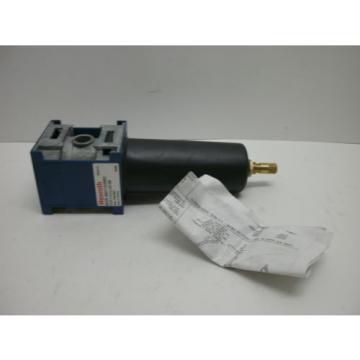 REXROTH Canada Greece BOSCH 8901702880 FILTER UNIT W/MANUAL DRAIN F 0,01U AD MB NEW IN BOX