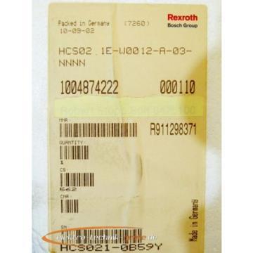 Rexroth Canada France HCS02.1E-W0012-A-03-NNNN IndraDrive Umrichter   > ungebraucht! <