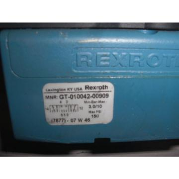 REXROTH Dutch Dutch CERAM GT-010042-00909 VALVE *USED*