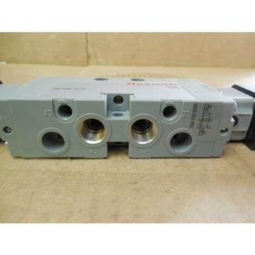 Rexroth Germany Singapore Double Solenoid Valve 0820 023 992 0820023992 143 PSI 24 VDC New